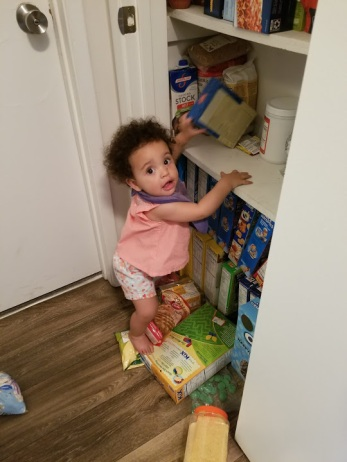 Getting into Pantry