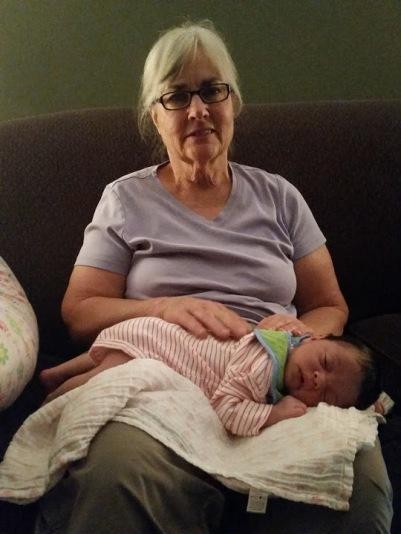 Maddie Grandma's Lap